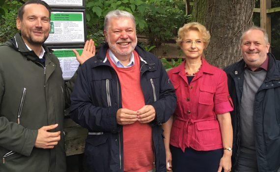 Kurt Beck, Gudrun Hollstein, Jens-Ove Heckel, Daniel Stich